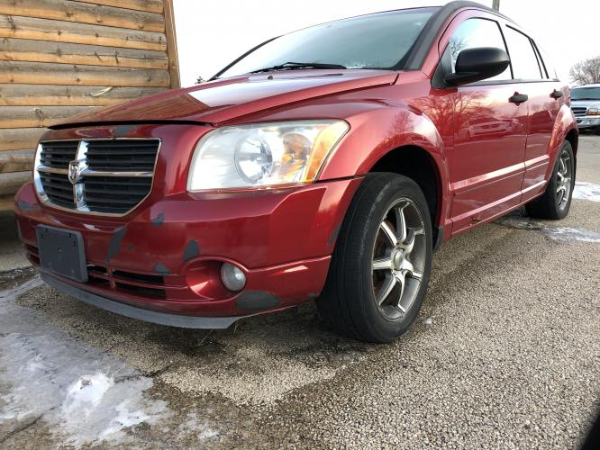 2007 Inferno Red Dodge Caliber SXT (1B3JB48B87D) with an 2.0L L4 DOHC 16V engine, A transmission, located at 1800 South Ihm Blvd, Freeport, IL, 61032, (815) 232-5543, 42.278645, -89.607994 - Photo #0