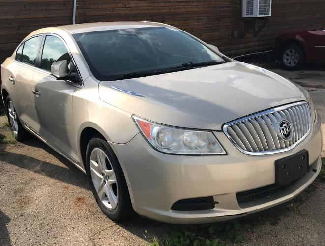 2011 Mist Gold Met Buick LaCrosse CX (1G4GA5EC2BF) with an 2.4L L4 DOHC 16V engine, 6-Speed Automatic Overdrive transmission, located at 1800 South Ihm Blvd, Freeport, IL, 61032, (815) 232-5543, 42.278645, -89.607994 - Photo #1