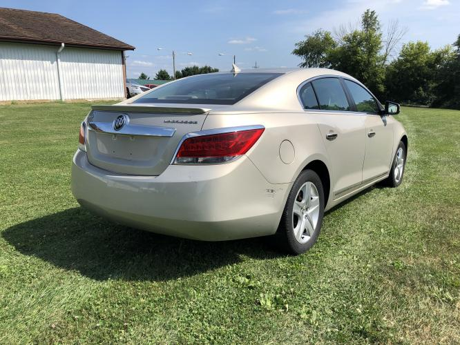 2011 Mist Gold Met Buick LaCrosse CX (1G4GA5EC2BF) with an 2.4L L4 DOHC 16V engine, 6-Speed Automatic Overdrive transmission, located at 1800 South Ihm Blvd, Freeport, IL, 61032, (815) 232-5543, 42.278645, -89.607994 - Photo #2