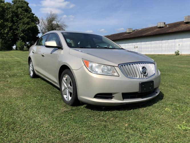 2011 Mist Gold Met Buick LaCrosse CX (1G4GA5EC2BF) with an 2.4L L4 DOHC 16V engine, 6-Speed Automatic Overdrive transmission, located at 1800 South Ihm Blvd, Freeport, IL, 61032, (815) 232-5543, 42.278645, -89.607994 - Photo #3