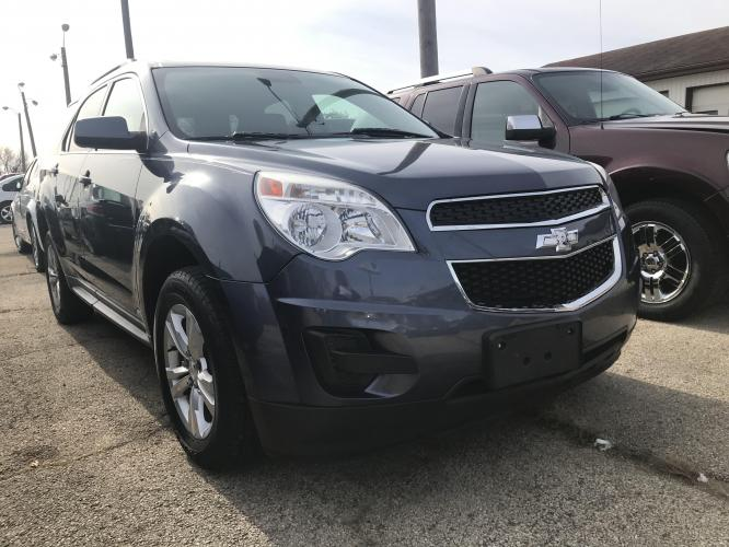 2014 Gun Metal Blue Chevrolet Equinox 1LT 2WD (2GNALBEK2E6) with an 2.4L L4 DOHC 16V engine, 6-Speed Automatic transmission, located at 1800 South Ihm Blvd, Freeport, IL, 61032, (815) 232-5543, 42.278645, -89.607994 - Photo #0