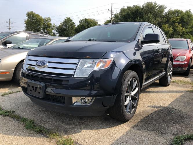 2010 Ink Blue Met Ford Edge Limited FWD (2FMDK3KC7AB) with an 3.5L V6 DOHC 24V engine, 6-Speed Automatic transmission, located at 1800 South Ihm Blvd, Freeport, IL, 61032, (815) 232-5543, 42.278645, -89.607994 - Photo #0