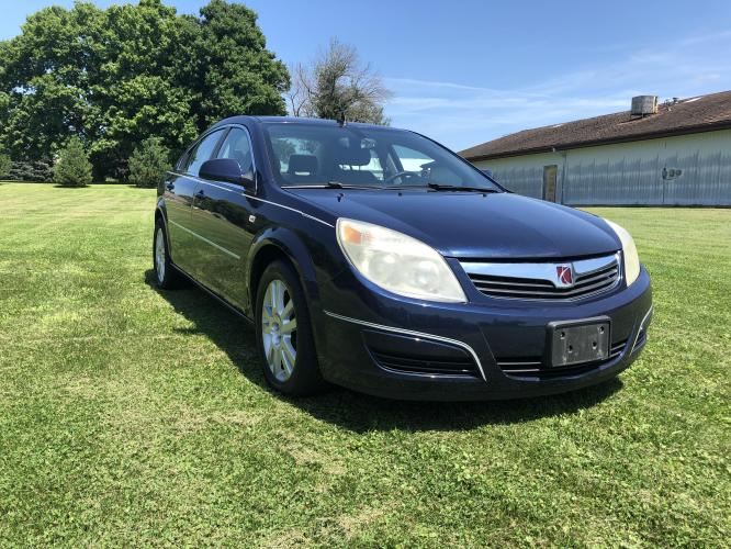 2008 Deep Blue Saturn Aura XE (1G8ZS57N78F) with an 3.5L V6 12V OHV engine, 4-Speed Automatic Overdrive transmission, located at 1800 South Ihm Blvd, Freeport, IL, 61032, (815) 232-5543, 42.278645, -89.607994 - Photo #4